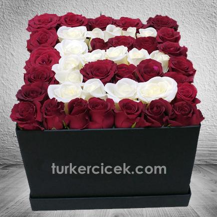 Kutuda Harf Çiçek